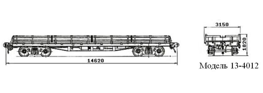 Платформа. Модель 13-4012